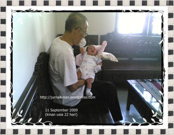 Kinan dan Atung (kakek dan cucu)